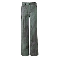 Boo Pala Soil Shades Digital Printed Trousers Green
