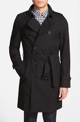 Men's Burberry London 'Wiltshire' Trim Fit Double Breasted Trench Coat