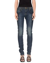 Naf Naf Denim Denim Trousers Women Blue