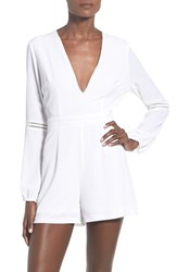 Women's Glamorous Lattice Detail Romper
