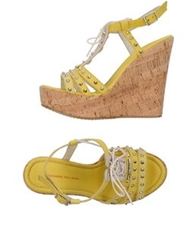 Alessandro Dell'acqua Sandals Light Green