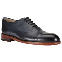 Oliver Sweeney Lupton Leather Oxford Lace Up Shoes Navy