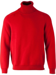 Jupiter Roll Neck Sweater Red