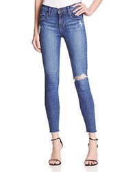 Nobody Geo Skinny Ankle Jeans In Brilliance