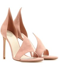 Francesco Russo Phard Suede Sandals Pink