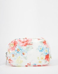 Cath Kidston Classic Box Make Up Case Spring Bouquet Spring Bouquet Clear