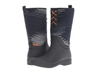 Kamik Redford Black Women's Lace Up Boots