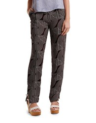 2Nd Day Rhyss Abstract Print Pants Soil