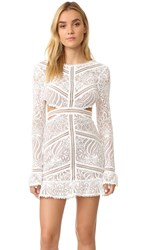 For Love And Lemons Emerie Cutout Dress White