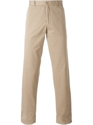 Carven Chino Trousers Nude And Neutrals