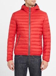 Colmar Red 1277 Light Hooded Down Jacket
