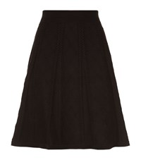 Sandro Jaklyn Knitted Skirt Female Black