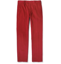 Polo Ralph Lauren Regular Fit Corduroy Trousers Red