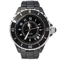 A Bathing Ape Type 1 Bape Watch Black