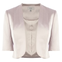 Coast Aaliyah Duchess Satin Jacket Neutral