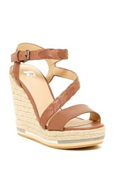 Joe's Jeans Rane Wedge Sandal Brown