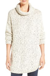 Eileen Fisher Women's Organic Cotton And Alpaca Twist Knit Cowl Neck Sweater