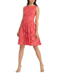 Donna Morgan Lace Fit And Flare Dress Tent