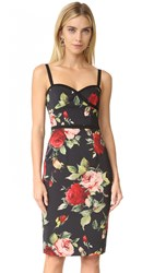 Black Halo Daria Sheath Dress Petal Pusher