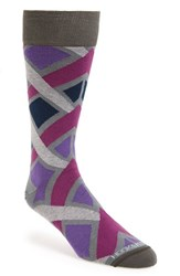 Men's Hook Albert Geo Pattern Socks