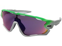 Oakley Jawbreaker Green Fade W Prizm Road Sport Sunglasses Purple