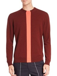Paul Smith Cashmere Knit Sweater Burgundy