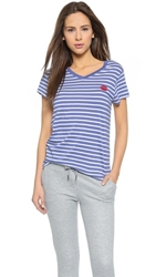 Zoe Karssen Lips Tee Optical White Marlin