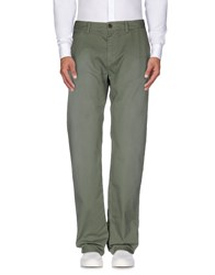 Vintage 55 Trousers Casual Trousers Men Military Green