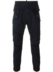 Dsquared2 Cargo Trousers Blue