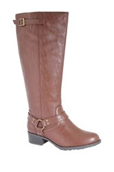 Intaglia Nevada Extra Wide Calf Riding Boot Wide Width Available Brown
