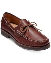 Cole Haan Men's Connery One Eye Lace Loafers Men's Shoes Barley