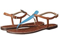 Sam Edelman Gigi Malibu Blue Saddle Vaquero Saddle Leather Women's Sandals