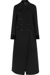 Tom Ford Double Breasted Stretch Wool Felt Coat
