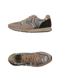 Voile Blanche Sneakers Khaki