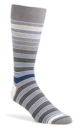 Hook Albert 'Indicolite' Socks Grey Black