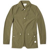 Sassafras Fall Leaf Jacket Green
