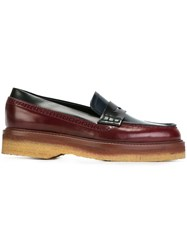 Etro Penny Loafers Red