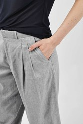 Boutique Linen Mensey Trousers By Grey
