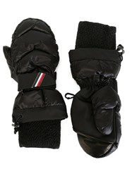Moncler Grenoble Padded Gloves Black