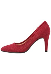 Anna Field Classic Heels Red