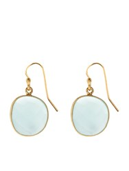 Accessorize Oval Aura Semi Precious Short Drops