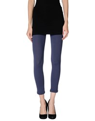 Niu' Trousers Leggings Women Slate Blue