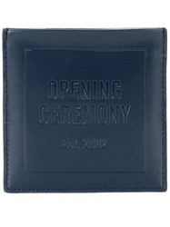 Opening Ceremony Square Cardholder Blue