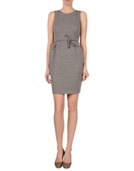 Vanda Catucci Short Dresses Light Grey