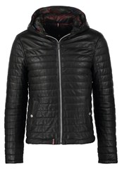 Oakwood Aurelien Leather Jacket Noir Black