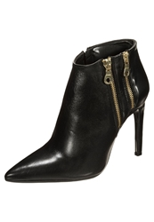 Mai Piu Senza High Heeled Ankle Boots Nero Black