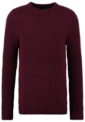 Dickies Bloomfield Jumper Maroon Bordeaux