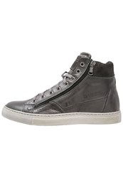 Redskins Nerino Hightop Trainers Anthracite Grey