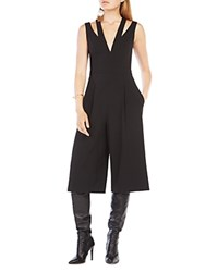 Bcbgmaxazria Ellis Crop Jumpsuit Black