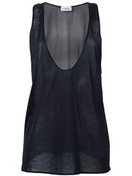La Perla 'Op Art' Tank Top Black
